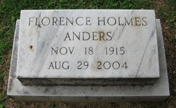 Florence <i>Holmes</i> Anders