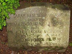 Sarah Douglas <i>Rencher</i> Anderson