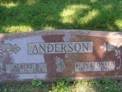 Albert B Anderson
