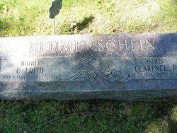 Clarence P Blumenschein