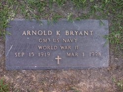 Arnold Keith Bryant