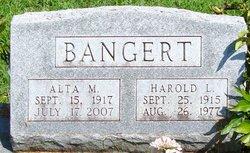 Harold L Bangert
