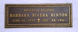 Barbara <i>Rivera</i> Hinton