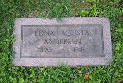 Edna Augusta <i>Sandstrom</i> Andersen