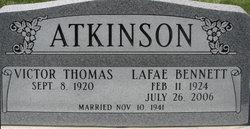 LaFae <i>Bennett</i> Atkinson