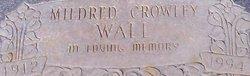 Mildred <i>Crowley</i> Wall