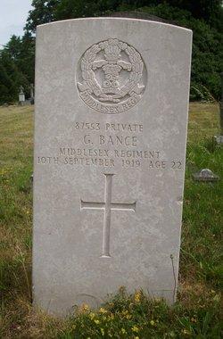 Pvt George Bance