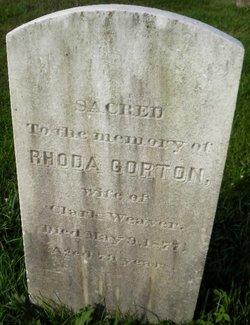 Rhoda <i>Gorton</i> Weaver