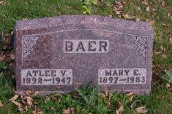 Mary Ella <i>Crone</i> Baer