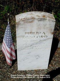 Pvt Philip Albert (Alphonse) Dunford