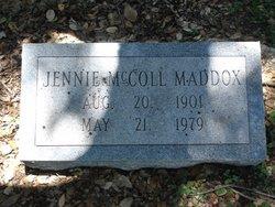 Jennie <i>McColl</i> Maddox