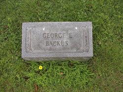 George E Backus