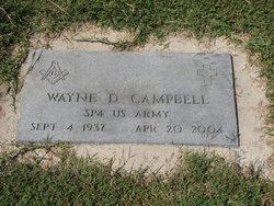 Wayne D Campbell