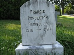 Francis Pendleton Gaines, Jr