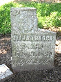 Elijah Brock