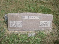 Bertha M. Bahr