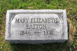 Mary Elizabeth Aunt Lib <i>Elliott</i> Easton