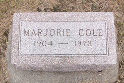 Marjorie May Cole