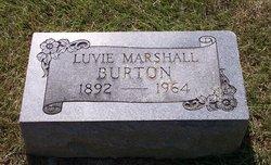 Luvie Marshall <i>Carrington</i> Burton