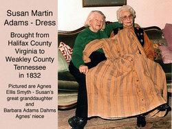 Susan L <i>Martin</i> Adams