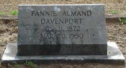 Fannie <i>Almand</i> Davenport