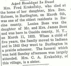 Louisa <i>Boss</i> Krakofsky