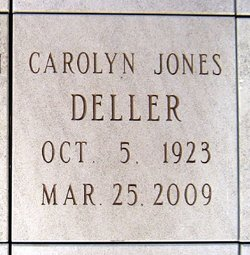 Carolyn <i>Jones</i> Deller