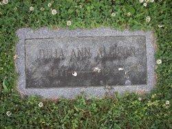 Julia Ann <i>Caruthers</i> Allison