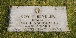 TSgt Roy Francis Beyeler