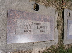 Elsie Wise <i>Patrick</i> Davies