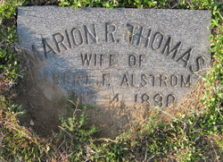 Marion R. <i>Thomas</i> Alstrom