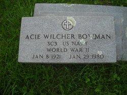 Acie Wilcher Bowman