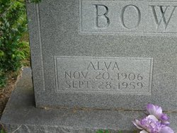 Alva Bowman