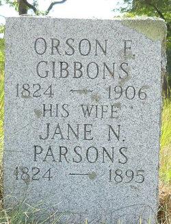 Orson E Gibbons