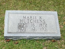 Marie Elizabeth <i>Kimball</i> Hutchens