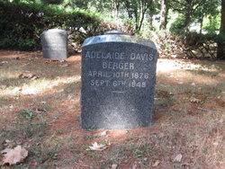 Adelaide <i>Davis</i> Berger