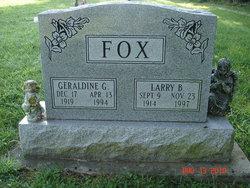 Geraldine G. <i>Drake</i> Fox