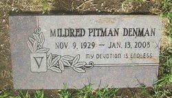 Mildred <i>Pitman</i> Denman