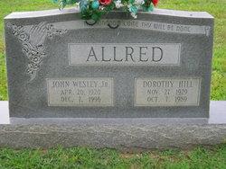 Dorothy <i>Hill</i> Allred