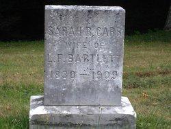 Sarah R <i>Carr</i> Bartlett