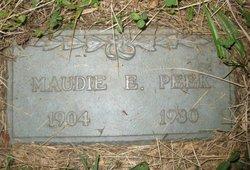 Maude Ethel Maudie <i>Crowder</i> Peek