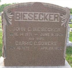 John E Biesecker