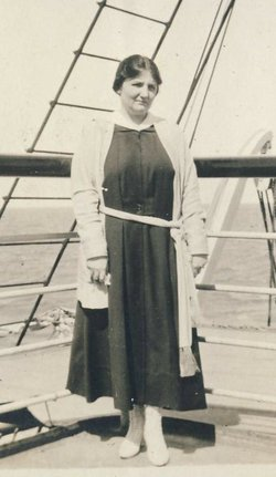 Josephine Gertrude <i>Ackerman</i> Fitzgerald