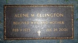 Alene <i>McKeown</i> Ellington