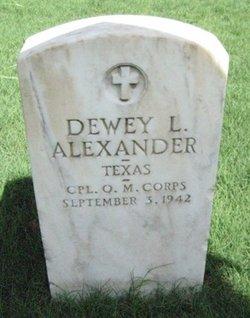 Dewey L Alexander