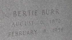 Bertie O <i>Burr</i> Dawes