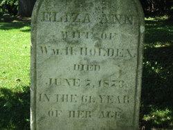 Eliza Ann <i>Nichols</i> Holden