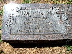 Dalpha M. James
