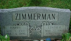 Edith E. <i>Leonard</i> Zimmerman