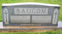 Cora Ann <i>Hargett</i> Baucom